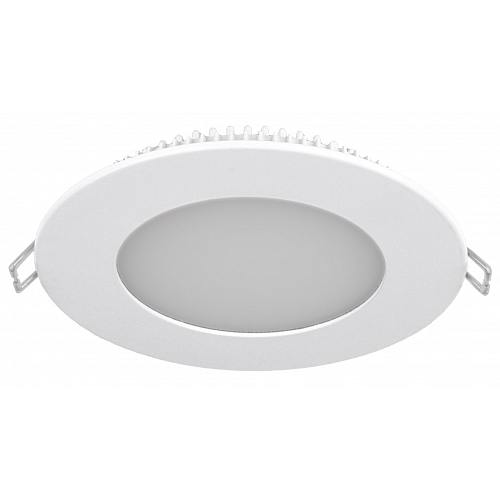 LED white downlight 220V 14W IP20 120D Ф155x20mm cold white 6000