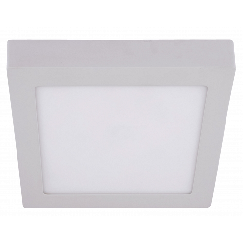 LED white downlight outdoor instalion 220V 18W IP20 120D 225х225