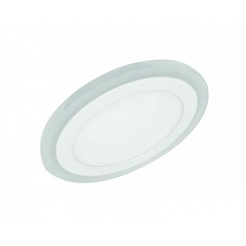 LED downlight white 220V 12+4W 2 in 1/ two colors 4000K+blue/ Li
