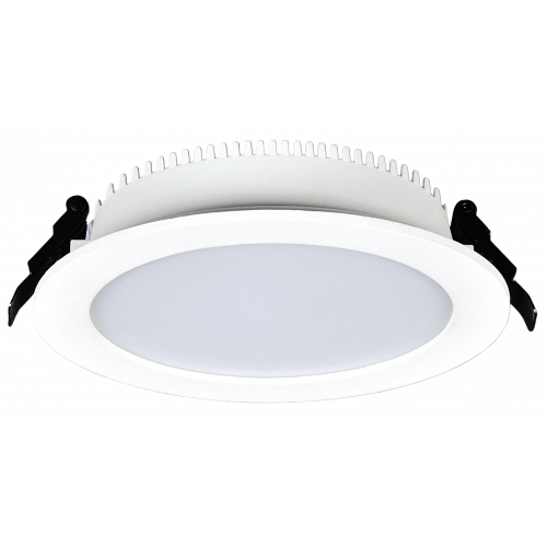 LED downlight white waterproof 220V 24W IP44 NW 4000K f210x35 mm