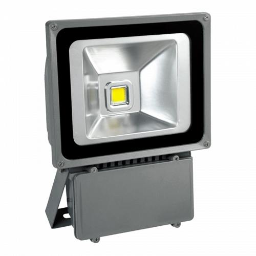 LED floodlight silver 220V 100W IP65 120D 4000К Lightex