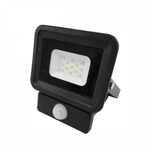 LED Floodlight SLIM 30 W 230 Volt Cool White with Moving sensor