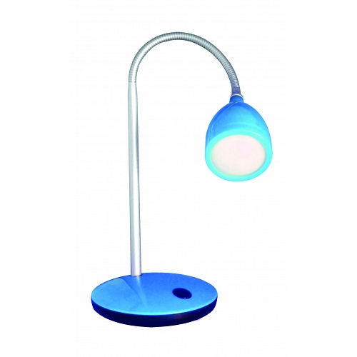 LED desk lamp MACAU 4W/8LED 230V blue 4000K