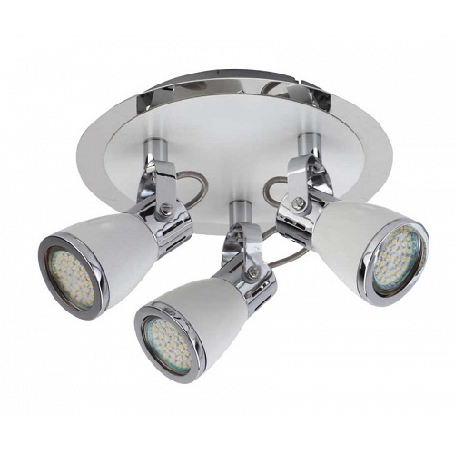 Spotlight LUBE 3xGU10 4W 60LED