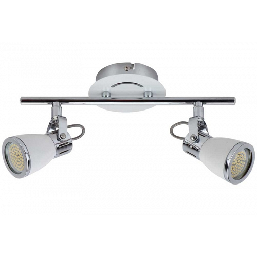 Spotlight LUBE II 2xGU10 4W 60LED