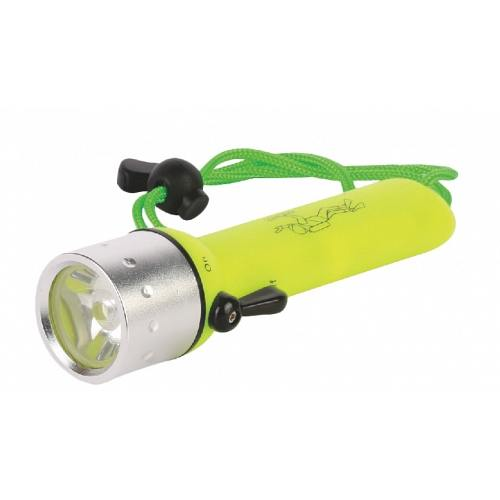 LED Flashlight IP68 without batteries 4*АА