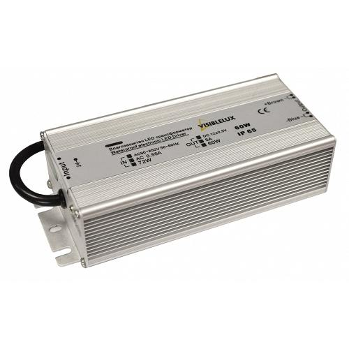 LED Transformer 60W 5A 170 250V aluminium IP65 Visiblelux