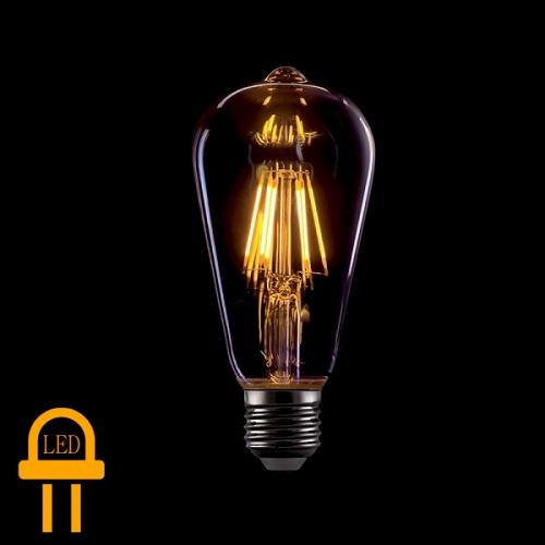 Led Bulb Filament E27 8 Watt Warm White