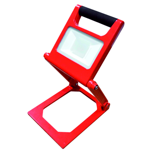 LED portable projector Foldable 10W 6000K 240V red