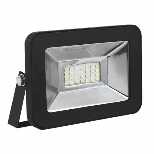 LED Floodlight Βlack SLIM PREMIUM 10 W 230 Volt Natural White
