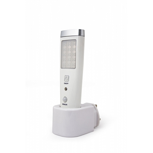 LED portable lamp with sensor 15+ 5 pcs. x 0.06 W for contact