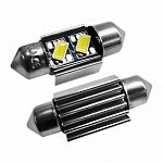 Festoon 31mm Can Bus 5630SMD with 2 SMD Cool White
