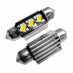 Festoon 36mm Can Bus 5630SMD with 3 SMD Cool White