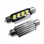 Festoon 42mm Can Bus 5630SMD with 4 SMD Cool White