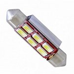 Festoon 39mm Can Bus 5630SMD with 6 SMD Cool White