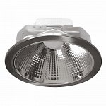LED downlight chrom 220V 20W COB WW 3000K