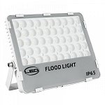 LED Floodlight White SLIM 50 W 230 Volt Natural White