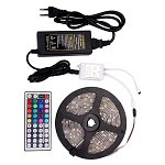 12V Waterproof RGB LED Strips Combo 7.2W/m