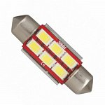 Festoon 36mm Can Bus 5630SMD with 6 SMD Cool White