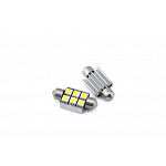 Festoon 39mm Can Bus with 6 SMD Cool White
