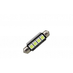 Festoon 42mm Can Bus with 4 SMD Blue