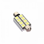 Festoon 39mm Can Bus with 6 SMD Blue
