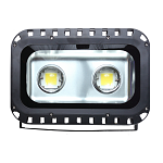 LED Floodlight HQ 100Watt 90-265 V IP65 Cool White