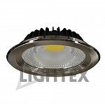 LED downlight chrome 220V 30W COB NW 4000K