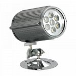 Led Spot Yellow 7X1W 12V DC IP65