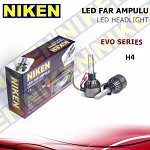 NIKEN Headlights H4 Led Xenon  9-32V 60W