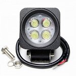 Working Light EPISTAR LED  12 W 10-30 Volt DC Cool White