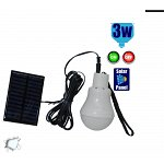 Autonomous Photovoltaic Solar Portable Lighting System with 1 LED lamp