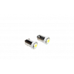 BA9S with 1 SMD 5050 Led Cool White
