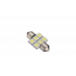 Festoon 31mm 6 SMD Cool White