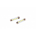 festoon 42mm 4 smd 5050 with Glass Cool White