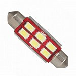 Festoon 42mm Can Bus 5630SMD with 6 SMD Cool White