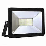 LED Floodlight Βlack SLIM PREMIUM 100 W 230 Volt Natural White