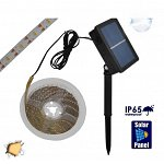 Autonomous Solar Photovoltaic Kit with 3 LED Tape Measures