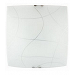 Ceiling light Morgan 40/40cm 2xE27 ledito