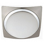 Ceiling lamp MACONY 1хЕ27 satin chrome+chrome