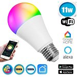 LED E27   11W Smart Home WiFi RGBW