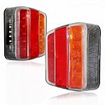 LED Red Lighting IP66 12V / 24V for trucks & vehicles