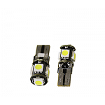 T10 Can Bus with 5 SMD 5050 Cool White