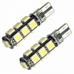 T10 Can Bus with 13 SMD 5050 Cool White