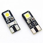 T10 Can Bus with 2 SMD 5050 Cool White
