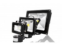 Floodlight with motion sensor