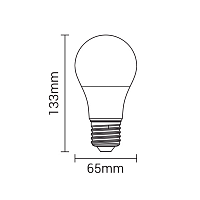 LED Bulb 3 Pieces Pack E27 15W Cool White
