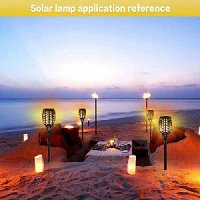 Garden solar light Torch