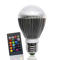 Led Bulb  RGB E27 8 WATT