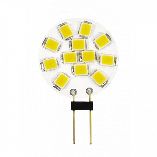G4 With 10 Led 2 W 10-30Volt/DC Side Pin Natural White